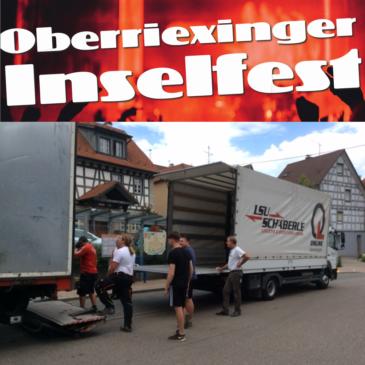 Aufbau für Troglauer klappt mit LSU Schäberle reibungslos!