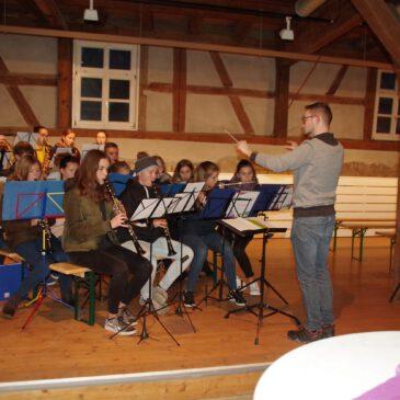 Wieder ein super Auftritt der Jugendkapelle!