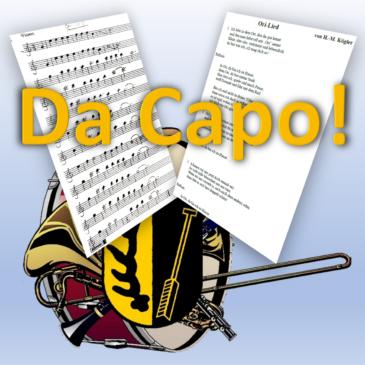 Ori-Lied: Da Capo! Heute nochmal!