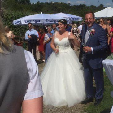 Endlich mal wieder eine Hochzeit!